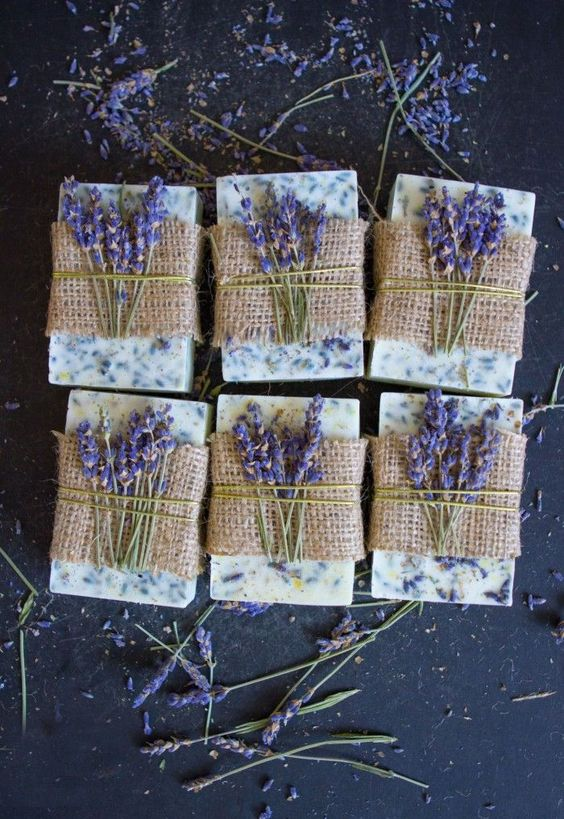 Lavender Honey Lemon Soap: