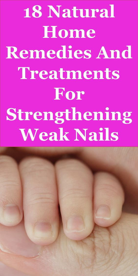 Below are 18 Of The Best Natural Home Remedies And Treatments For Strengthening Weak Nails. Number 17 Would Shock You.