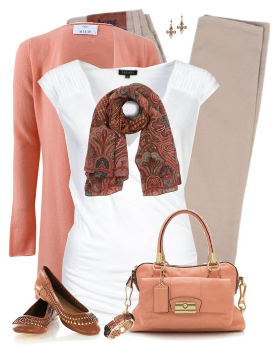 Simple Fall Outfit by daiscat on Polyvore featuring polyvore, fashion, style, ESCADA, Allude, Acne Studios, Oasis, Coach, Anne Klein, Mawi, Etro and clothing