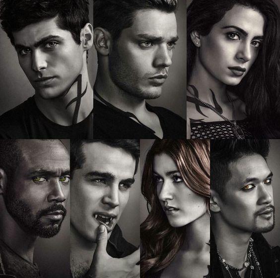 Shadowhunters season 2 character posters: