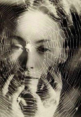 #despertar Tal como a aranha cria a teia a partir de sua saliva, ela vive e brinca nela e no fim a mesma aranha engole a teia de aranha, similarmente o Deus, o Senhor cria o universo inteiro como acto do Seu Pensamento. Ele se manifesta nele e novamente Ele retira o universo inteiro em Si Mesmo. Mundaka Upanishad 1:1:7  Dora Maar
