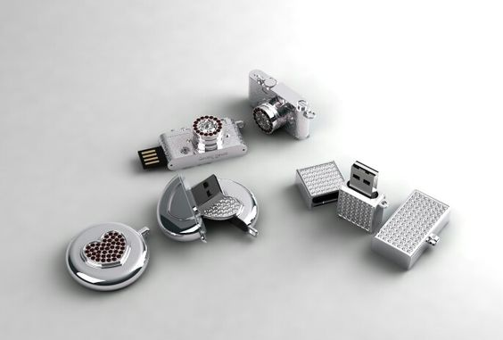 32G  USB memory / 925silver / design & made by gongplus+