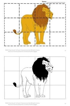 Cut and Paste Zoo Animal Puzzles-Pre-k, K, Special Education, Autism.-Puzzles are not only fun for children they have a lot of benefits. Some of those benefits are developing problem solving skills, fine motor skills, and hand eye coordination. Students will enjoy these Zoo inspired puzzles.: