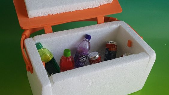 American Girl Doll Crafts and Fun!: Craft: Make a Doll Sized Cooler