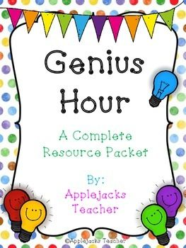 genius hour a complete resource packet teaching pets and student centered resources. Black Bedroom Furniture Sets. Home Design Ideas