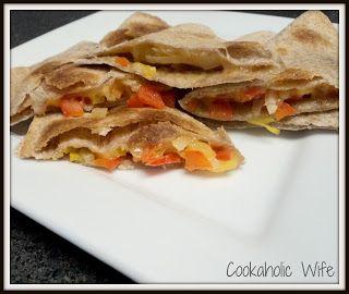 Cookaholic Wife: Margarita Chicken Quesadillas