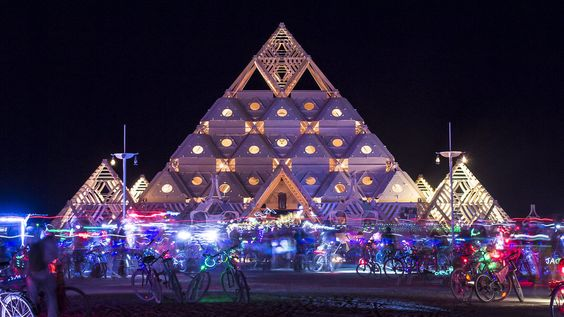 The Temple of Whollyness Burning Man 2013
