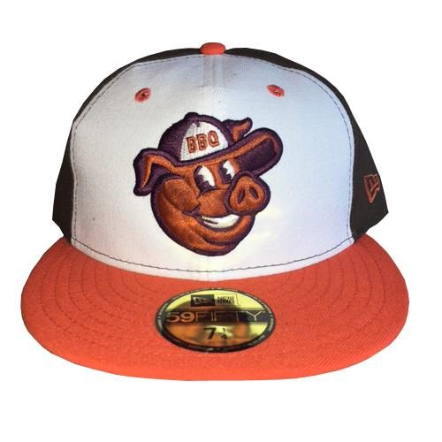 Lehigh Valley Ironpigs 59fifty Fauxback Hat Fitted Caps Hats New Era