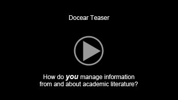 "The Academic Literature Suite Docear (""dog-ear"") is an academic literature suite. It integrates everything you need to search, organize and create academic literature into a single application: digital library with support for pdf documents, reference manager, note taking and with mind maps taking a central role.  Docear is free and open source, based on Freeplane."