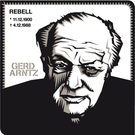Rebell | Gerd Arntz