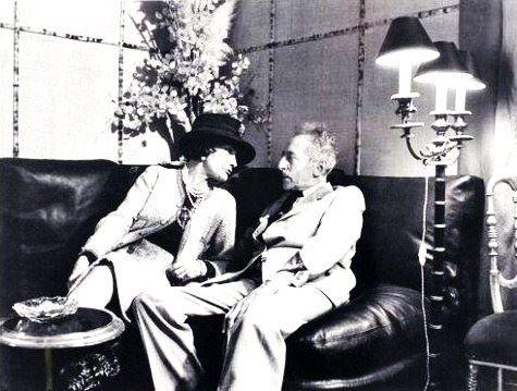 Gabrielle Chanel & Jean Cocteau
