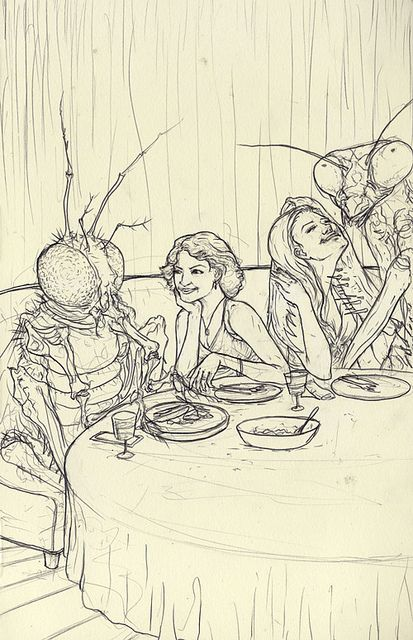 Dinner with the Bugs | David Merrique