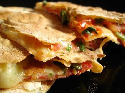 Grüsse aus der Küche: Quesadillas mit Chorizo
