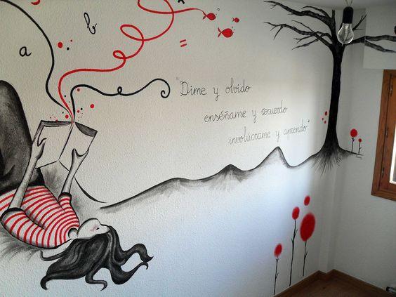 Decoraciones para pared de dormitorios juveniles buscar - Ideas de decoracion para dormitorios ...