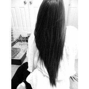 image gallery long black hair tumblr