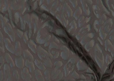 Black on Black Stretch Leopard Print
