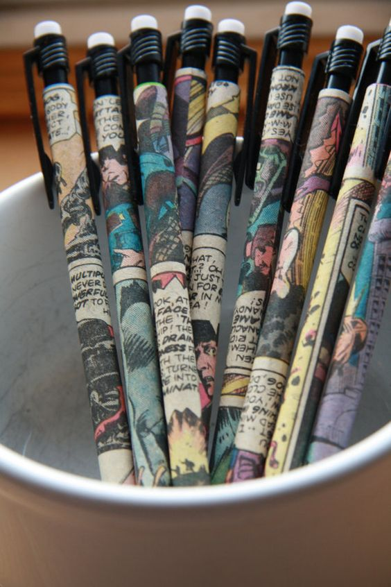 Dr Who mechanical pencils! I <3 the Tardis!