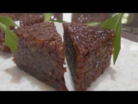 Resep Wajik Ketan Gula Merah Yang Legit Dan Mudah Dibuat Youtube Recipes Asian Desserts Rice Cake Recipes