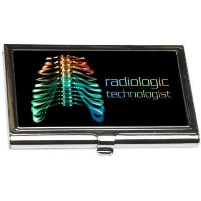 """Radiologic Technologist"" Business Card Holder from http://shop.advanceweb.com."