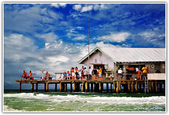 Anna maria island historic pier florida floridiana for Anna maria island fishing pier