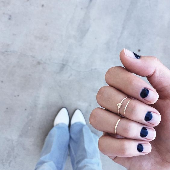 """""""new mani, nothing but moons """""""
