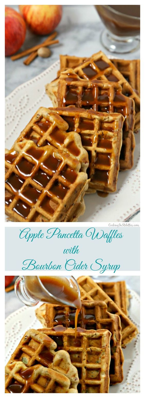 ... syrup waffles apples apple cider toasted pecans do do sweet pecans