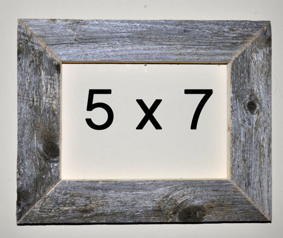 5 x 7 Driftwood Picture Frame 319 by DriftwoodMemories on Etsy