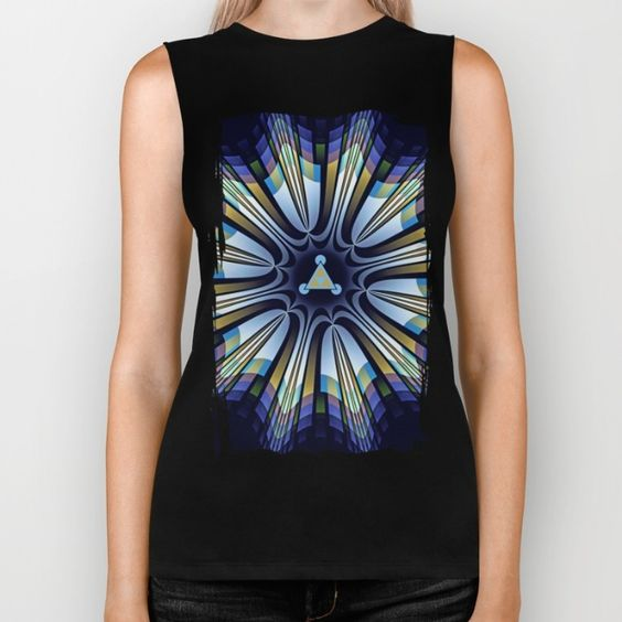 Retro abstract pattern star design in the colors blue, turquoise, green, gold and pink. (retro...