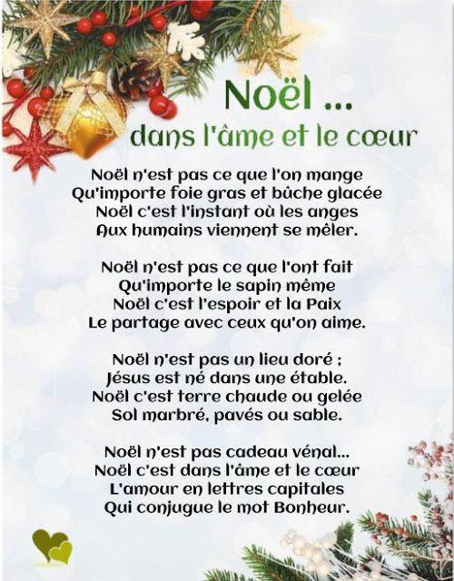 Souhaiter Un Joyeux Noël Original Poeme Noel Texte Joyeux