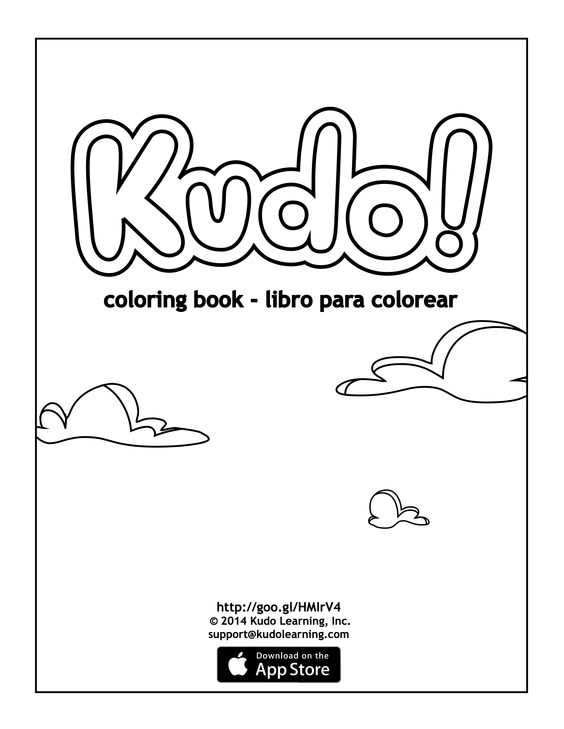 Kudo! coloring book  is.gd/kudoapp