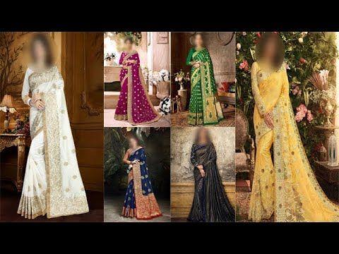 مجموعة فاخرة جدا من الساري الهندي اللباس الهندي التقليدي Sari Indie Party Weddingdress Indianclothing Sareeblouse Blouses Wedding Wedding Saree