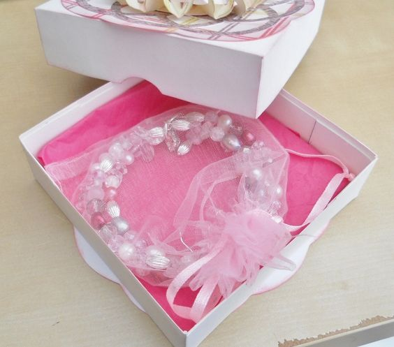inside the box - hand made jewellery