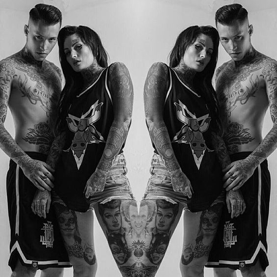 """Satanic Bulls"" Basketball Tank Top & ""Monogram"" Basketball Shorts available at www.crmc-clothing.co.uk | WE SHIP WORLDWIDE  Models - @lusylogan & @ryan_davieshall  Photography - @jt14photography  #Basketball #blackmetal #basketballjersey #basketballshorts #nba #altfashion #alternative #instafashion #fashionstatement #fashiongram #fashionista #instastyle #stylegram #fashionoftheday #dailyfashion #grungefashion #grunge #styles #style #alternativeguy #alternativeboy #alternativegirl…"