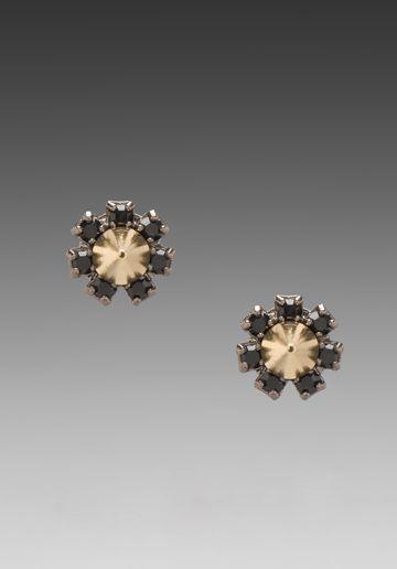 JOOMI LIM Crystal Stud Earrings