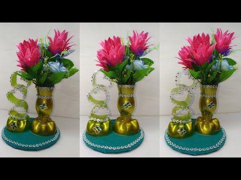 Kreasi Botol Bekas Vas Bunga Dari Botol Bekas Vase Flower