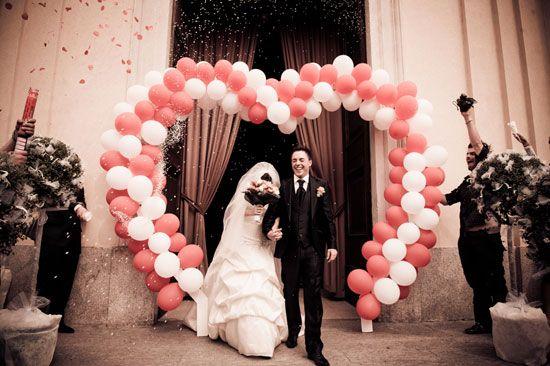 Lancio del riso? Non solo! Coriandoli argentati e cuori - Matrimonio .it : la guida alle nozze