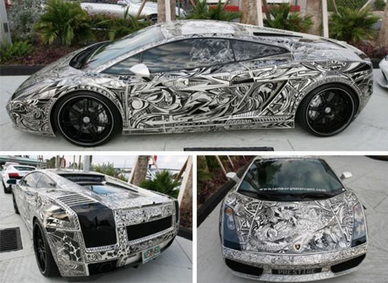 A R Skyline GTR Gets An Extremely Detailed Makeover By A - Artist wife doodles husbands car