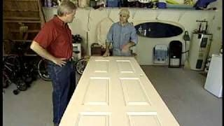 Tips for Painting a Door, via YouTube.
