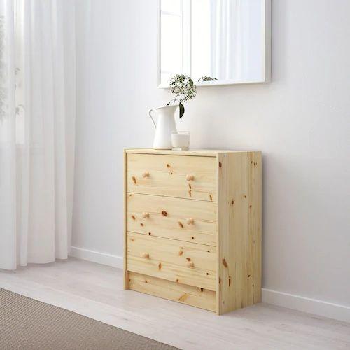 IKEAの木製チェストRASTで自分だけのオリジナル家具を実現!