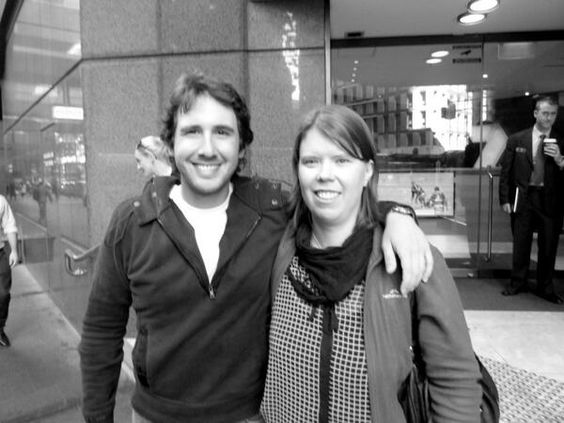 C Parker‏@MrsGroban276h Me and my mate @joshgroban #JGinOz