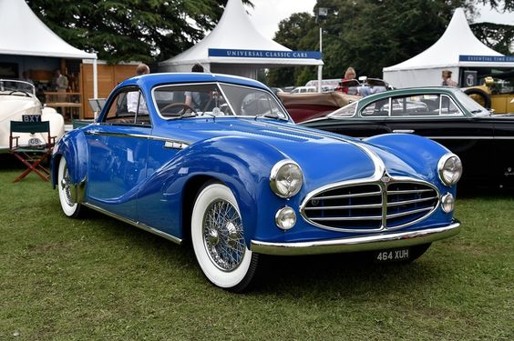 Delahaye Type 235MS Coupe 1953 on show at 2014 Salon Privé