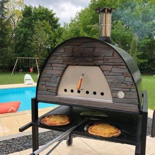 Authentic Pizza Ovens Maximus Prime Arena Countertop Wood Fired