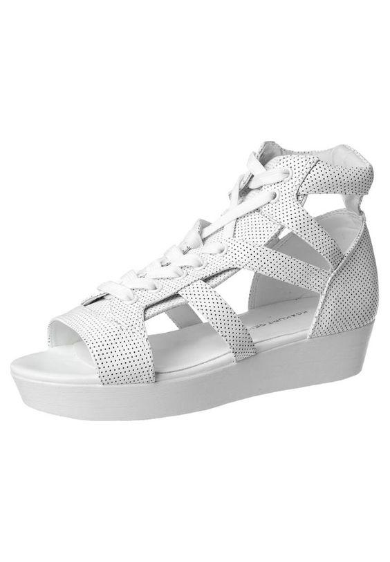 #Sandals #white #clean