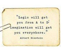 Inspirational Photo 17 - Use your brain and be creative!