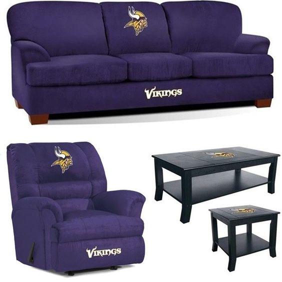Minnesota Vikings NFL Mega Fan Cave Set