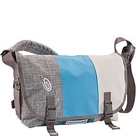 Timbuk2 Classic Messenger Bag - M - Grey/Cold Blue/Tusk Grey