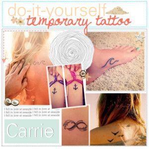 for Fake tattoo hairspray