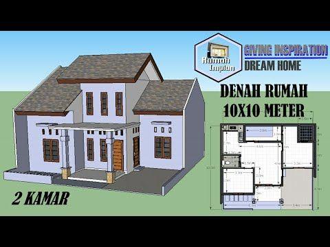 desain rumah minimalis 2 lantai 10x10 - content