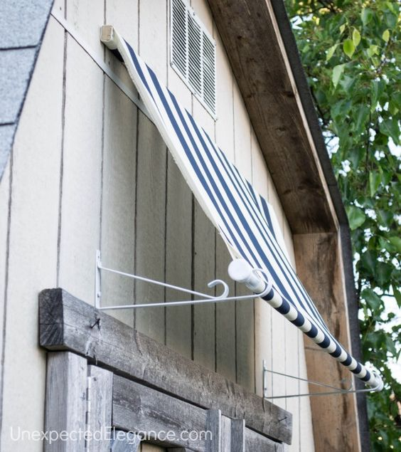 Diy Shed Awning Quick And Easy Fai Da Te Fai Da Te E
