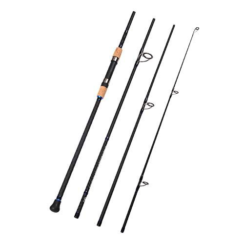 Sougayilang Fishing Baitcaster Combos Lightweight Baitcasting Combo Fishing Rod And 11 1bb Fishing Reel Right Left Hand For Travel 4 Pieces Saltwater Freshwate Travel Fishing Rod Carbon Fiber Fishing Rod